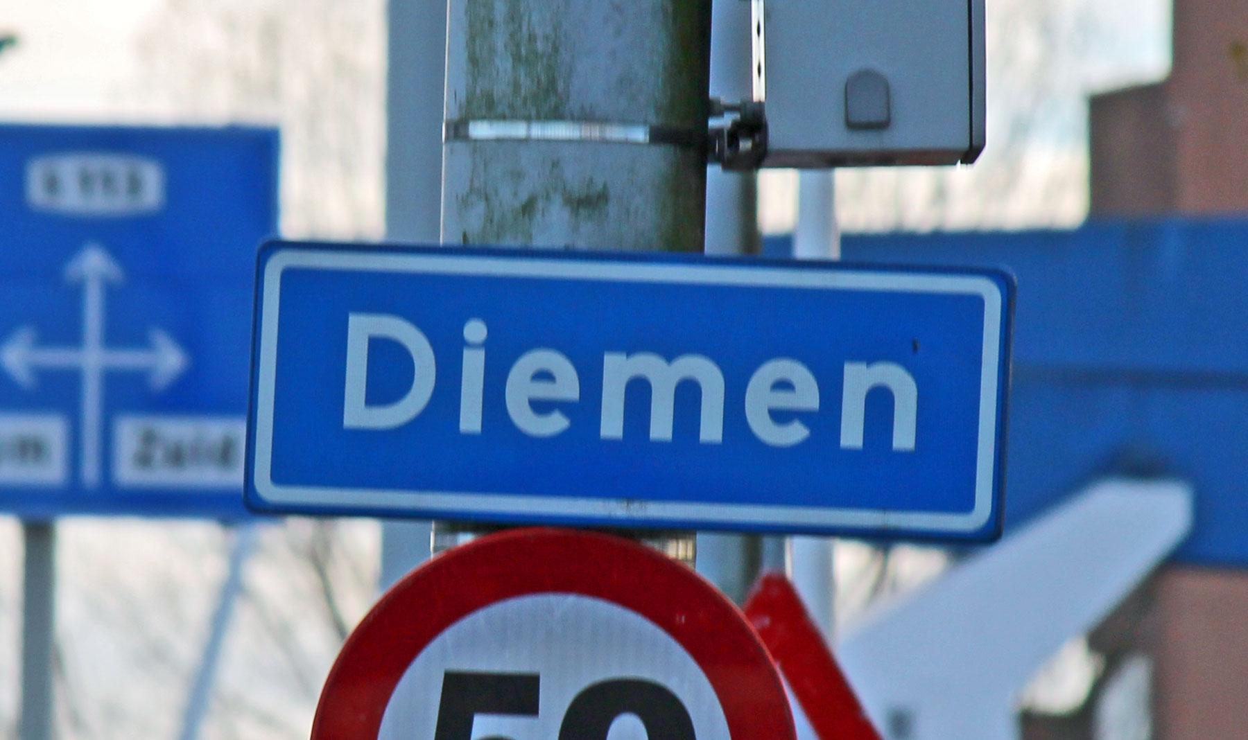 Wijziging bebouwde komgrens - D66 in Diemen
