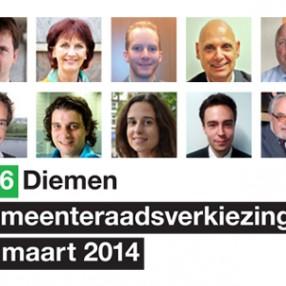 Kieslijst D66 Diemen GR2014